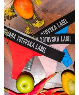 КОМПЛЕКТ БИКИНИ - 3бр /Red, Pink & Blue/
