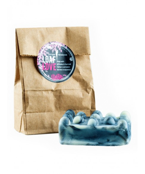 LOAF LOVE - Soap with activated charcoal